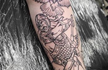 Odin - detail