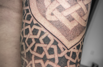 Geometric Tattoo detail