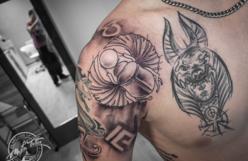 Sketch styl tetování