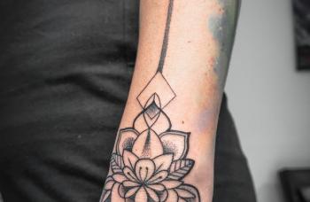 Dotwork tetování