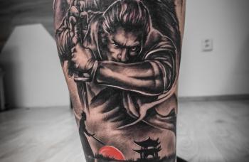 Samuraj - detail