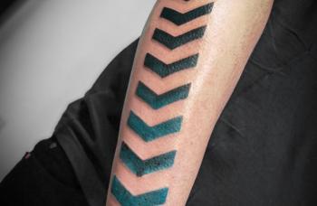 Geometric Tattoo - detail