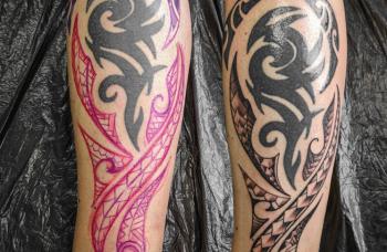 Freehand tetování